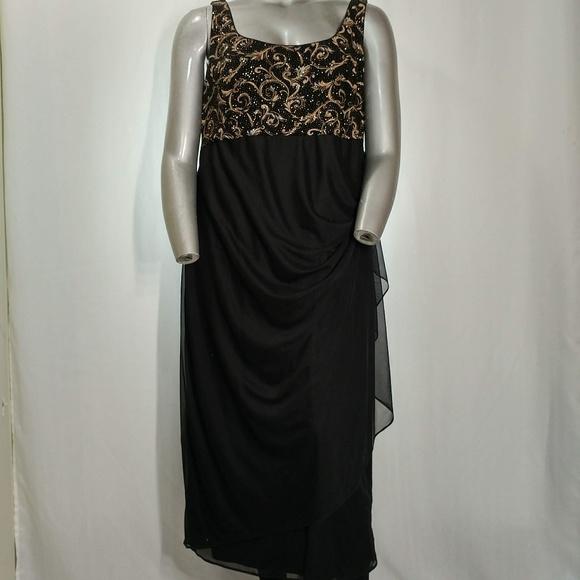e7ff99897f7432 Alex Evenings Dresses & Skirts - Alex Evenings Sleeveless Formal Chiffon  Dress, ...